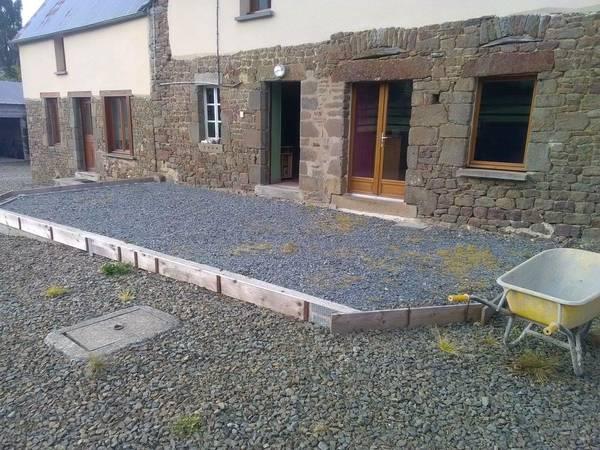 revetement terrasse beton ciré