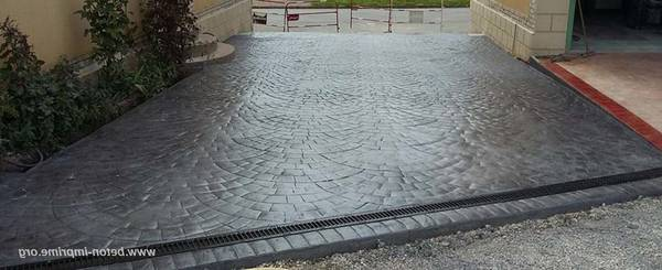 beton coloré pour terrasse