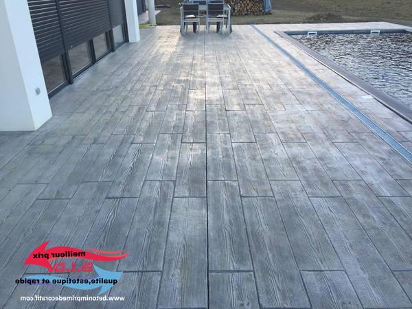 prix terrasse classique