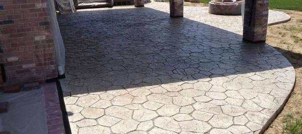 prix terrasse beton 25m2
